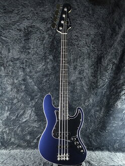 Fender Japan Exclusive Aerodyne Jazz Bass Medium Scale GMB (old-:AJB-M) brand new gunmetal blue [fenders], [Japan], [aérodyne] and [bass] [Blue, Blue] [medium] [Electric Bass, bass]