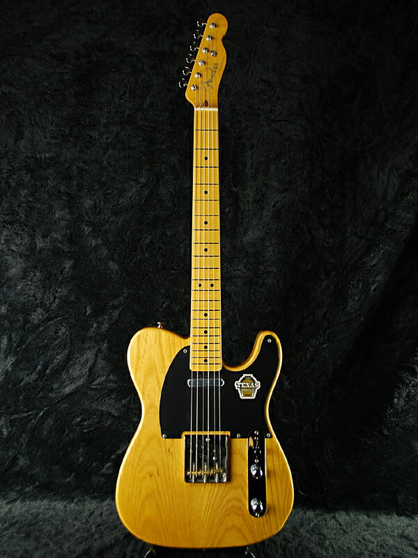 Fender Japan Exclusive Classic 50s Telecaster TEX SPEC VNT (旧型番:TL52-TX) 新品 ヴィンテージナチュラル[フェンダー][ジャパン][テレキャスター][Vintage Natural][Electric Guitar,エレキギター]_rs