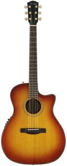 Fender GA-45SCE ACB新货FISHMAN挑选搭载[挡泥板][GA45SCE][Aged Cherry Burst][Acoustic Guitar,吉他,ereako]