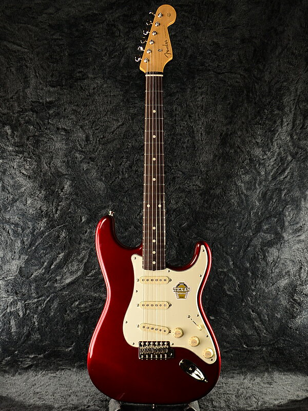 Fender Japan Exclusive Classic 60s Stratocaster TEX SPEC OCR (旧型番:ST62-TX) 新品 オールドキャンディアップルレッド[フェンダー][ジャパン][ストラトキャスター][Candy Apple Red,赤][Electric Guitar,エレキギター]