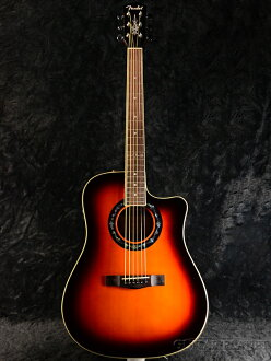 Fender T-Bucket 100CE新货太阳爆裂[挡泥板][Sunburst][Dreadnought,仿熊皮粗绒大衣呢][Electric Acoustic Guitar,吉他,ereako]