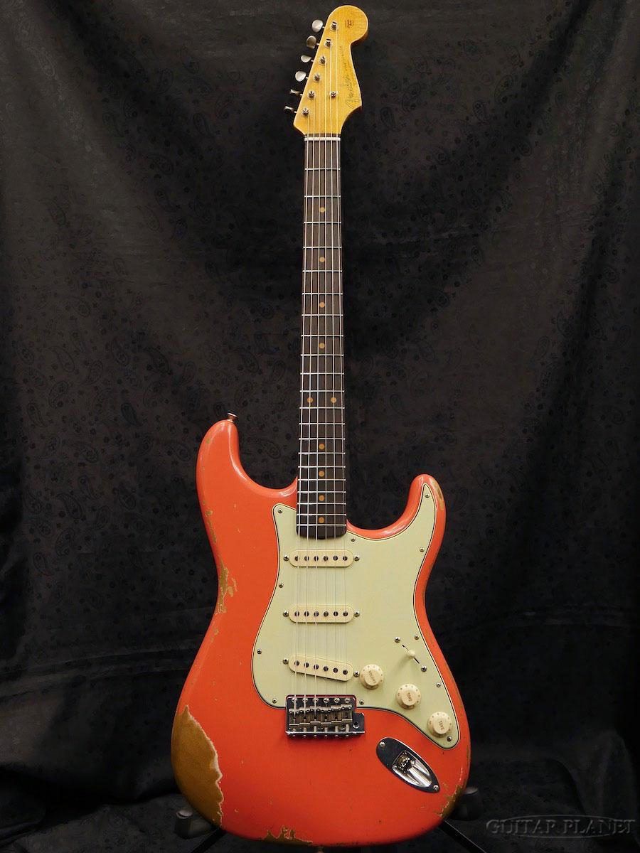 【完全限定1本】Fender Custom Shop ''Guitar Planet Exclusive'' 1962 Stratocaster Heavy Relic -Faded Fiesta Red- 新品[フェンダーカスタムショップ,CS][フィエスタレッド,赤][ストラトキャスター][Electric Guitar,エレキギター]