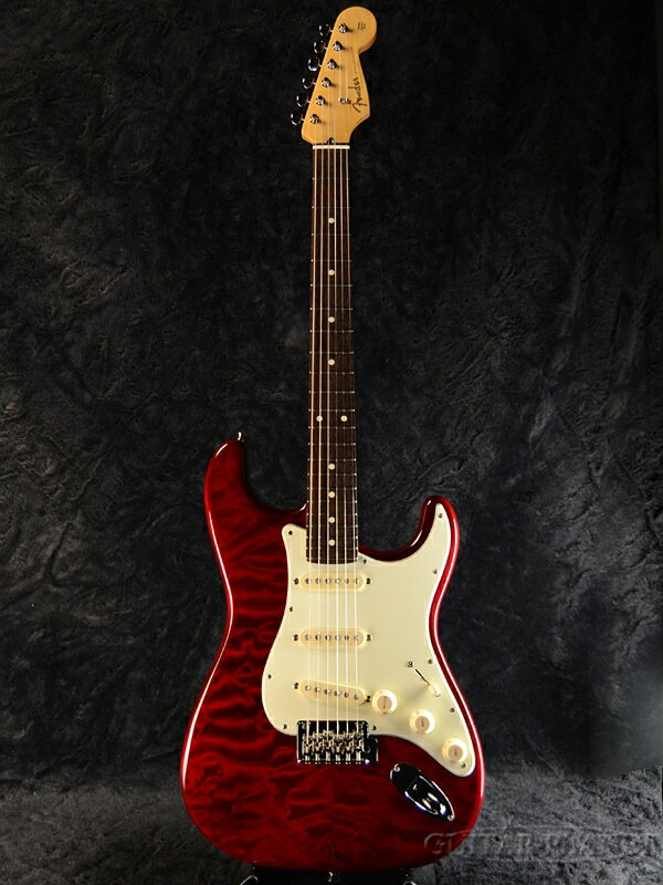Fender FSR Made In Japan Hybrid 60s Stratocaster Quilt Top / Transparent Red 新品[フェンダージャパン][ハイブリッド][トランスレッド,赤][ストラトキャスター][Electric Guitar,エレキギター]