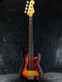 【中古】Fender USA 1962 Precision Bass -3-Color Sunburst- 1962年製 [フェンダー][プレシジョンベース,プレベ][サンバースト][Electric Bass,エレキベース]【used_ベース】