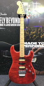 Fender Michiya Haruhata Stratocaster -Trans Pink- 新品【JD21002912】 【3.70kg】[フェンダージャパン][春畑道哉,TUBE][ピンク,レッド,Red,赤][ストラトキャスター][Electric Guitar,エレキギター]