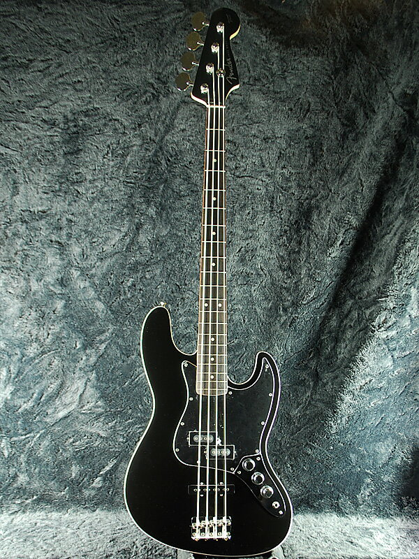 Fender Japan Exclusive Aerodyne Jazz Bass BLK (旧型番:AJB) 新品[フェンダー][ジャパン][エアロダイン][ジャズベース][Black,黒][エレキベース,Electric Bass]