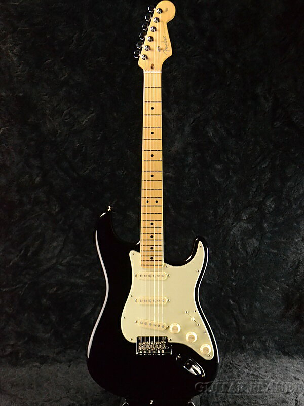 Fender USA American Professional Stratocaster Black/Maple 新品[フェンダー][アメリカンプロフェッショナル,アメプロ][ブラック,黒][ストラトキャスター][Electric Guitar,エレキギター]