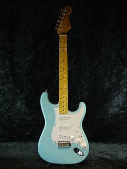 Fender Japan Exclusive Classic 50s Stratocaster SBL(老型号:ST57)新货声速蓝色[挡泥板][日本][sutoratokyasuta][Sonic Blue,蓝,淡蓝色][Electric Guitar,电子吉他]_ec