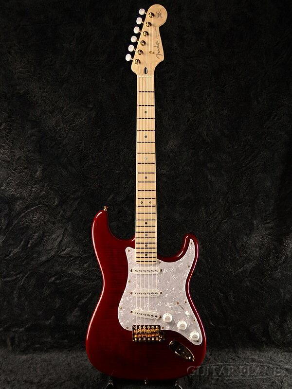 Fender Japan Exclusive Ritchie Kotzen Stratocaster (旧型番:STR-RK) TRS リッチーコッツェン 新品 シースルーレッドサンバースト[フェンダー][ジャパン][ストラト][Red Sunburst,赤][Electric Guitar,エレキギター]