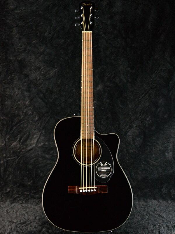 Fender CC-60SCE Black 新品[フェンダー][ブラック,黒][Electric Acoustic Guitar,エレクトリックアコースティックギター,エレアコ][CC60SCE]