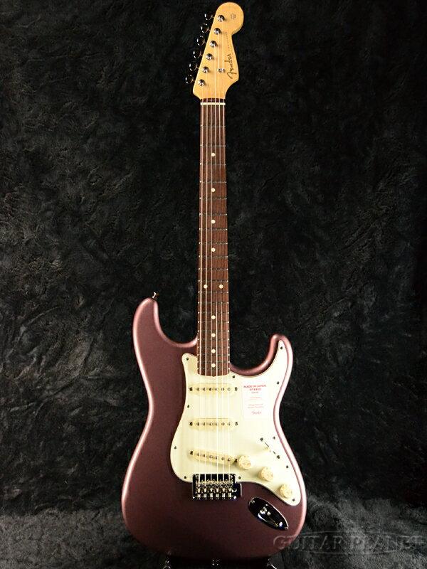 Fender Made In Japan Hybrid 60s Stratocaster Burgundy Mist Metallic 新品 《レビューを書いて特典プレゼント!!》[フェンダージャパン][ハイブリッド][バーガンディーミストメタリック][ストラトキャスター][Electric Guitar,エレキギター]