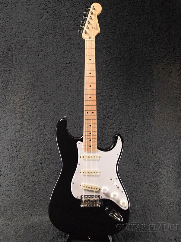 【中古】Fender Japan ST-STD -Black / Maple- 2010-2012年製[フェンダージャパン][ブラック,黒][Stratocaster,ストラトキャスター][Electric Guitar,エレキギター]【used_エレキギター】