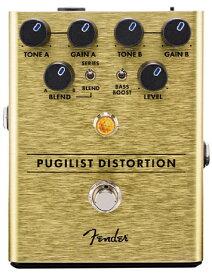 Fender PUGILIST DISTORTION PEDAL 新品 ディストーション[フェンダー][プギリストディストーション,ボクサー][歪み][Effector,エフェクター,ペダル]