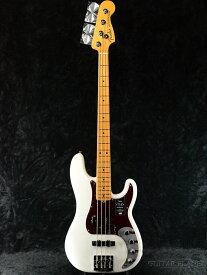 Fender USA American Ultra Precision Bass -Arctic Pearl / Maple- 新品[フェンダー][アメリカンウルトラ][White,アークティックパール,ホワイト,白][メイプル][プレベ,プレシジョンベース][Electric Bass,エレキベース]