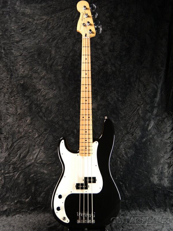 Fender Player Precision Bass Left Hand -Black / Maple- 新品 [フェンダーメキシコ][プレイヤー][Lefty,レフトハンド,レフティ,左利き][ジャズベース,JB][ブラック,黒][エレキベース,Electric Bass]