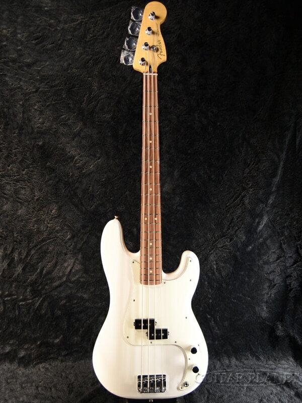 Fender Player Precision Bass -Polar White / Pau Ferro- 新品[フェンダーメキシコ][プレイヤー][Precision Bass,プレシジョンベース,プレベ,PB][ホワイト,白][パーフェロー][エレキベース,Electric Bass]