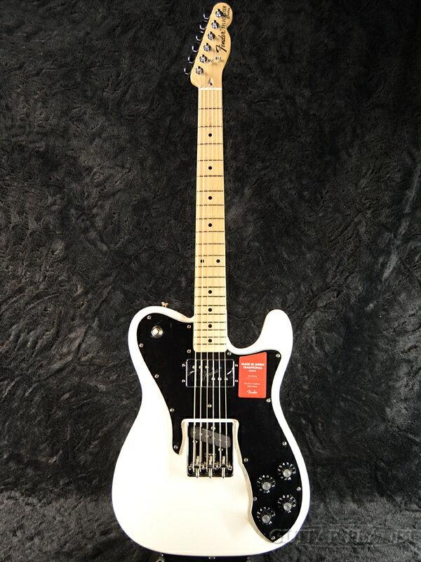 Fender Made In Japan Traditional 70s Telecaster Custom Arctic White 新品 《レビューを書いて特典プレゼント!!》[フェンダージャパン][トラディショナル][アークティックホワイト,白][テレキャスターカスタム][Electric Guitar,エレキギター]