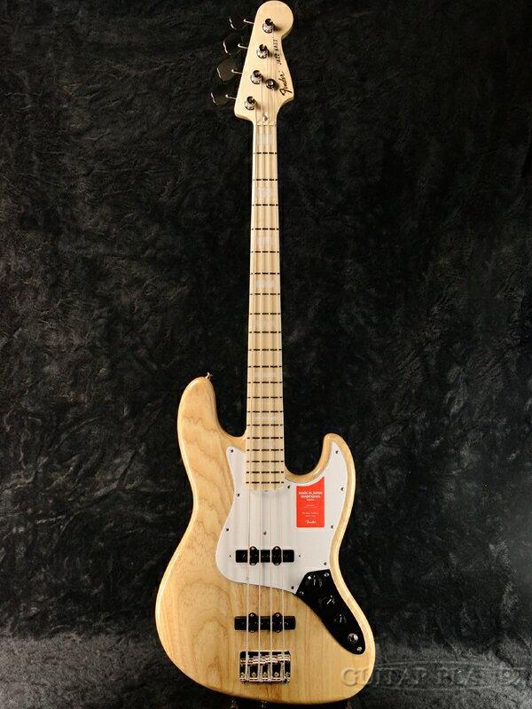 Fender Made In Japan Traditional 70s Jazz Bass Natural 新品《レビューを書いて特典プレゼント!!》[フェンダージャパン][トラディショナル][ナチュラル][JB,ジャズベース][Electric Bass,エレキベース]