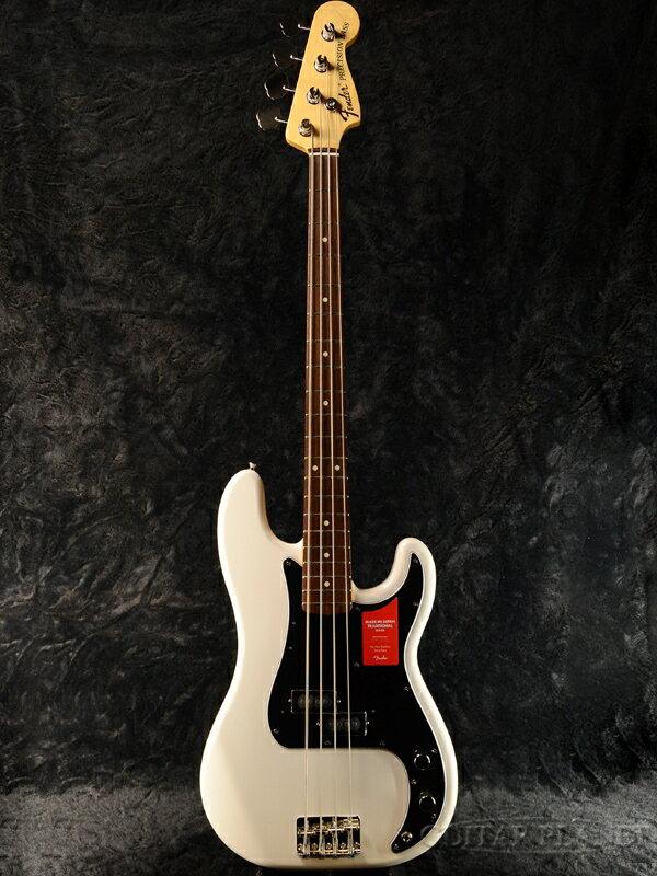 Fender Made In Japan Traditional 70s Precision Bass Arctic White 新品《レビューを書いて特典プレゼント!!》[フェンダージャパン][トラディショナル][アークティックホワイト,白][PB,プレシジョンベース,プレベ][Electric,エレキベース]