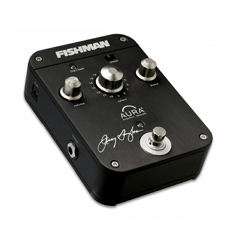 FISHMAN Jerry Douglas Signature Aura Imaging Pedal 新品 アコースティックギター用プリアンプ[フィッシュマン][ジェリーダグラス][Effector,エフェクター]