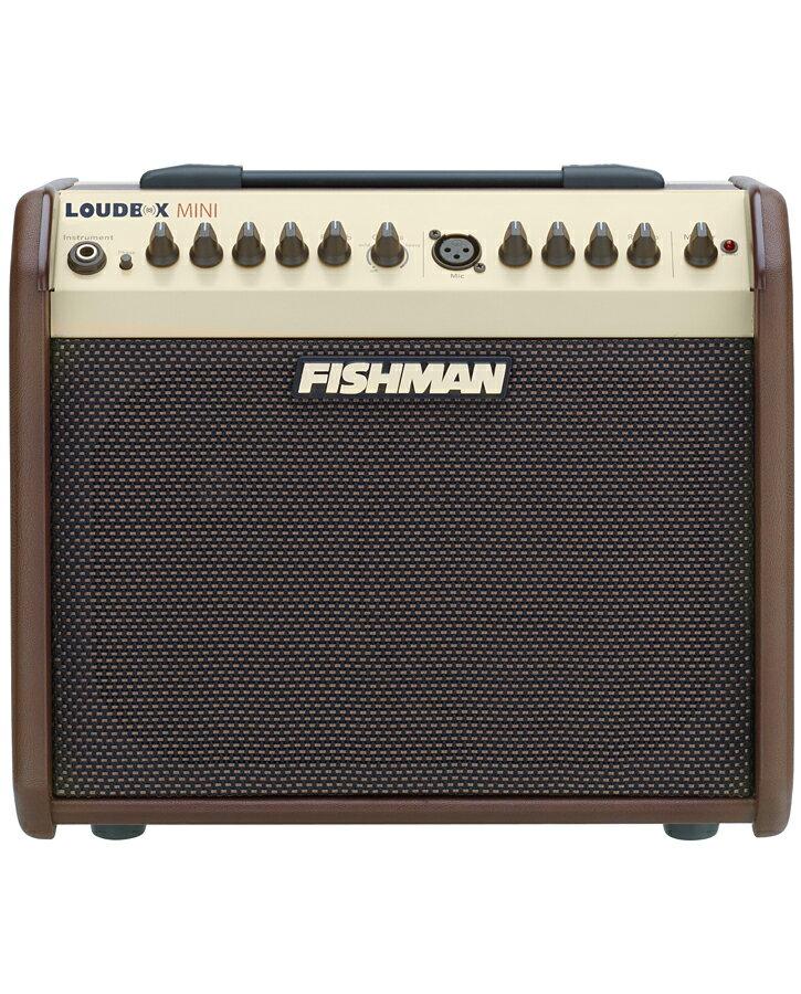【60W】FISHMAN Loudbox mini 新品[フィッシュマン][ラウドボックスミニ][Acoustic Guitar Combo Amplifier,アコースティックギター用コンボアンプ]
