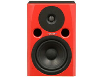 Fostex PM0.4n 红色新监视器扬声器 [帕福斯 TeX] [工作室监视器,录音室监听] [红色,红色]