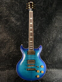 FUJIGEN ERS-FM-R BBTQ 新品[Fgn,フジゲン,富士弦][国産/日本製][Les Paul,レスポールタイプ][Blue,ブルー,青][Electric Guitar,エレキギター]