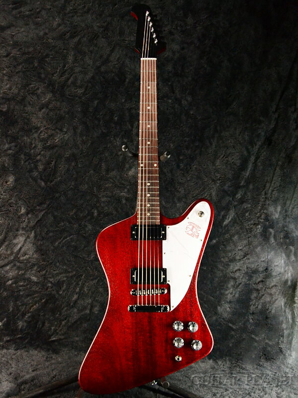 【2019 MODEL】Gibson Firebird Tribute 2019 -Satin Cherry- 新品[ギブソン][ファイヤーバード][Red,レッド,サテンチェリー,赤,木目][Electric Guitar,エレキギター]