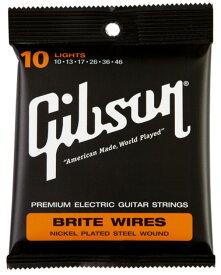 【純正品】Gibson 10-46 Brite Wires Light SEG-700L [ギブソン][エレキギター弦,string]