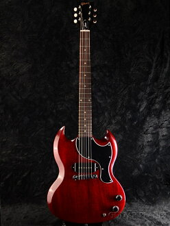 Gibson Limited Proprietary SG Junior 2016 Heritage Cherry新货[吉布森][SG小SG][P-90,P90][遗产樱桃,Red,红,红][Electric Guitar,电子吉他]