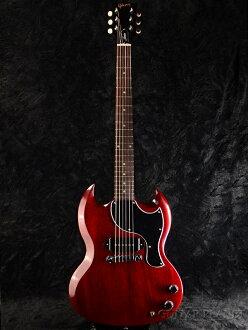 Gibson Limited Proprietary SG Junior 2016 Heritage Cherry新货[吉布森][SG小SG][P-90,P90][遗产樱桃,Red,红,红][Electric Guitar,电子吉他]