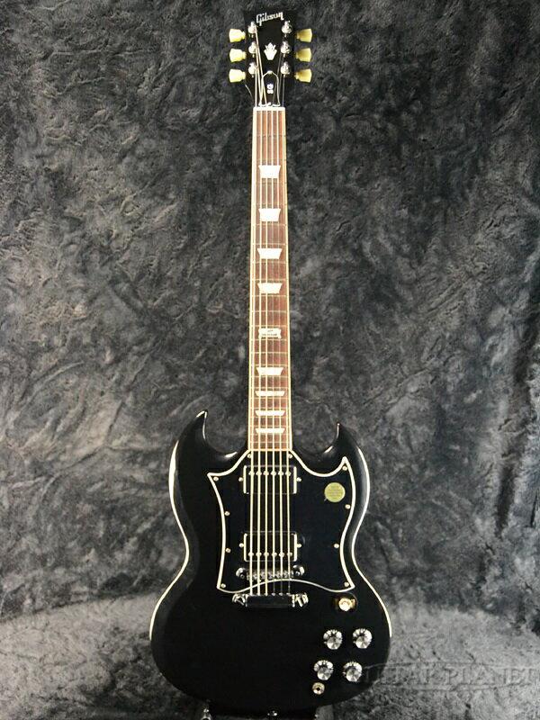 【中古】Gibson SG Standard 2014 -Ebony- 2014年製[ギブソン][スタンダード][エボニー,Black,ブラック,黒][Electric Guitar,エレキギター]【used_エレキギター】