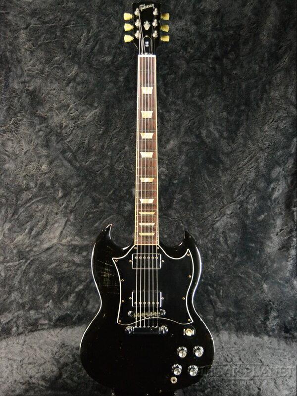 【中古】Gibson SG Standard -Ebony- 2010年製[ギブソン][スタンダード][エボニー,Black,ブラック,黒][Electric Guitar,エレキギター]【used_エレキギター】