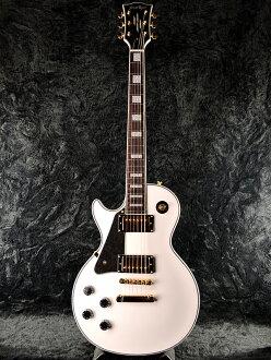 基层 G-LP-60 C 左手全新白色 [基层]、 [ESP 品牌] [Les Paul 自定义,自定义类型: Les Paul] [LH、 左撇子,左手、 左] [白色,白色] [电吉他、 电吉他]