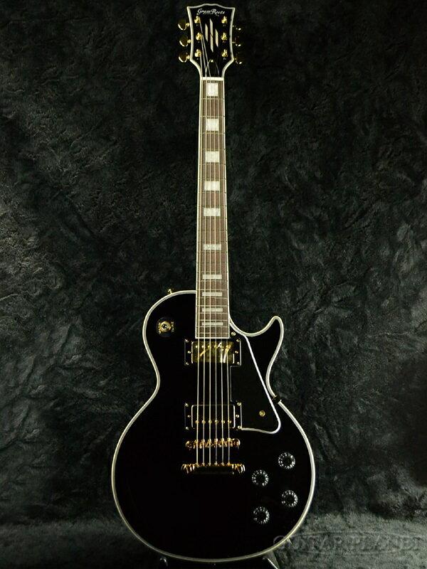 GrassRoots G-LP-60C 新品 ブラック[グラスルーツ][ESPブランド][Les Paul Custom,レスポールカスタムタイプ][Black,黒][Electric Guitar,エレキギター]