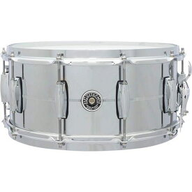 "【14""x6.5""】Gretsch Drums Chrome Over Steel Shell Snares GB-4164S 新品[グレッチ][ブルックリン][クロームオーバースチール][シェル][Snares,スネア][Drums,ドラム]"
