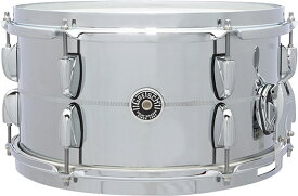 "【13""x7""】Gretsch Drums Chrome Over Steel Shell Snares GB-4163S 新品[グレッチ][ブルックリン][クロームオーバースチール][シェル][Snares,スネア][Drums,ドラム]"