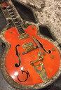 【中古】Gretsch 6120W Nashville 1991年製[グレッチ][Western,ウエスタン][ナッシュビル][Orange,オレンジ][フルア...