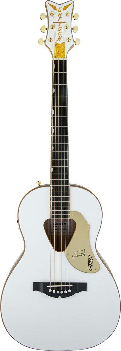 Gretsch G5021WPE Rancher Penguin 新品 《レビューを書いて特典プレゼント!!》[グレッチ][ランチャー][ペンギン][White,ホワイト,白][Electric Acoustic Guitar,アコースティックギター,エレアコ,アコギ]