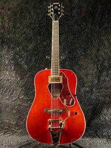 Gretsch G5034TFT Rancher -Savannah Sunset- 新品[グレッチ][ランチャー][Red,Orange,サバンナサンセット,レッドオレンジ,赤][Bigsby,ビグスビー][Electric Acoustic Guitar,エレアコ,アコースティックギター]