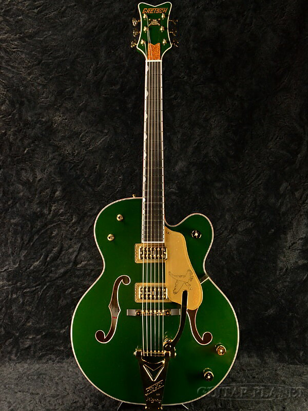 Gretsch G6136T-KF FSR Kenny Falcon 新品 横山健シグネイチャー[グレッチ][Ken Yokoyama][ケニーファルコン][Cadillac Green,キャデラックグリーン,緑][フルアコ/ホロウ][Electric Guitar,エレキギター]