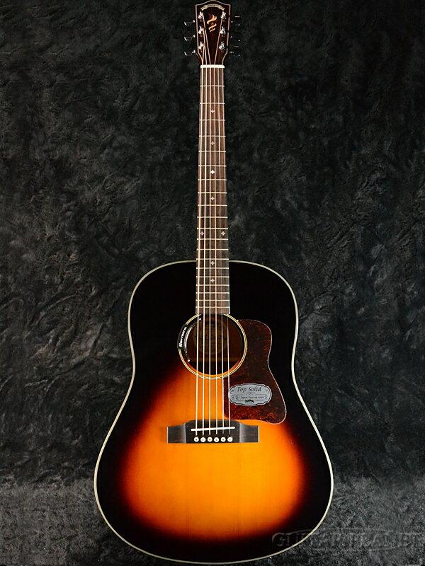 """Headway Japan Tune-Up Series HJ-OSAMURAISAN with JOY-2 新品[ヘッドウェイ][""""おさむらいさん""""シグネチャーモデル][Sunburst,サンバースト][ピックアップ搭載][Acoustic Guitar,アコギ,アコースティックギター,Folk Guitar,フォークギター]"""