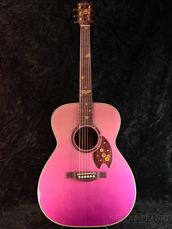 【限定13本!!】Headway Aska Team Build HOM-SAKURA'19 D,A,S/ATB ~Purple Gradation~ 新品[ヘッドウェイ][国産/日本製][桜,サクラ][パープルグラデーション][Acoustic Guitar,アコースティックギター,アコギ,Folk Guitar,フォークギター]