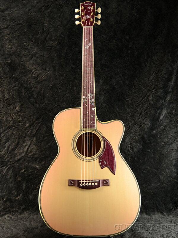 【楽器フェア出展作品】Headway Custom Shop HXC-SAKURA Extra ~Build by A.Furihata~ 新品[ヘッドウェイ][国産/日本製][桜][Acoustic Guitar,アコースティックギター,アコギ,Folk Guitar,フォークギター]