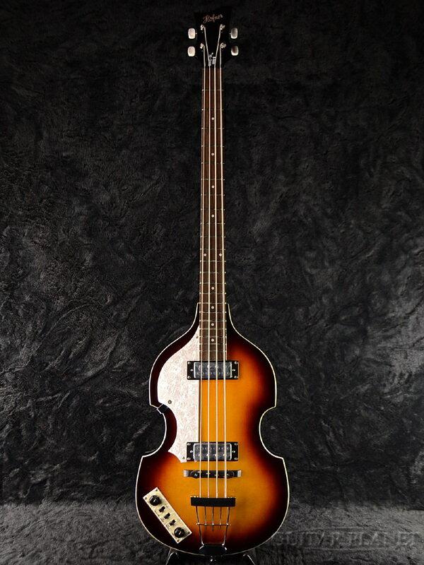 Hofner Ignition Bass-L Left Hand 新品 サンバースト[ヘフナー][Lefty,レフティー,左用][Violin Bass,バイオリンベース][イグニションベース][Beatles,ビートルズ][Paul McCartney,ポールマッカートニー]_bt