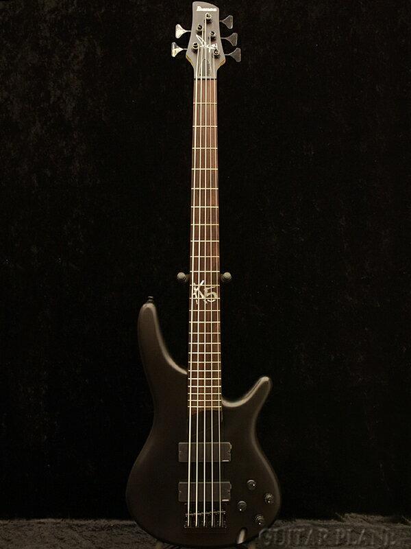 Ibanez K5 -BKF- 新品[アイバニーズ][Black Flat,ブラックフラット][5弦,5 strings][Electric Bass,エレキベース]