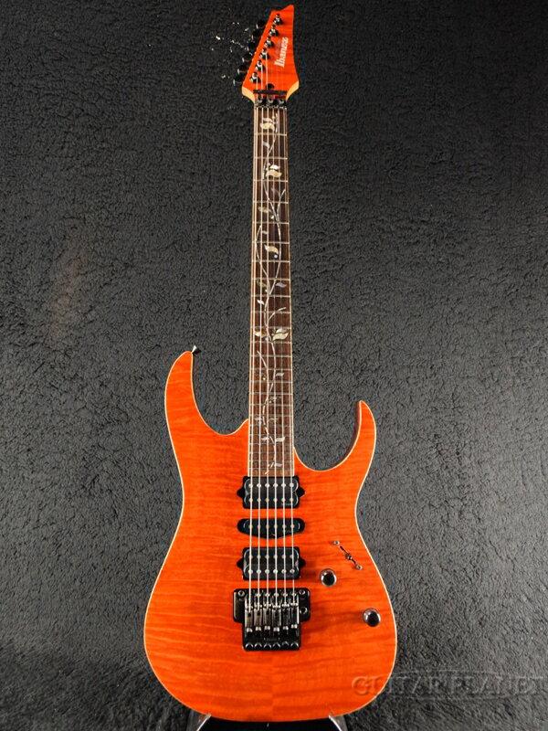 【中古】Ibanez j.custom RG8470F -PR (Prominence)- 2006年製[アイバニーズ][jカスタム][RGシリーズ][プロミネンス,Orange,オレンジ,橙][Stratocaster,ストラトキャスタータイプ][Electric Guitar,エレキギター]【used_エレキギター】