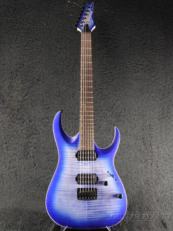 【中古】Ibanez RGA42FM -BLF (Blue Lagoon Burst Flat)- 2017年製[アイバニーズ][RGシリーズ][ブルーラグーンバーストフラット,青][Stratocaster,ストラトキャスタータイプ][Electric Guitar,エレキギター]【used_エレキギター】