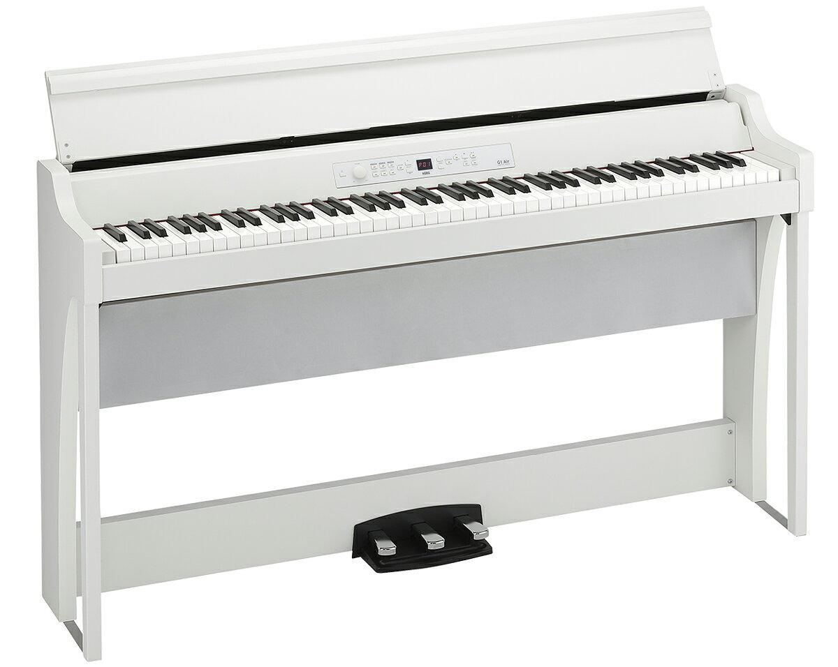 KORG G1 AIR-WH 新品 デジタルピアノ[コルグ][88鍵盤][エア][White,ホワイト,白][Digital Piano,電子ピアノ]