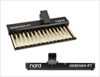 Clavia Nord Pedal Keys 27 brand new C2/C2D for keyboard-based [Glavine],  [node], MIDI pedalboards Keyborad, keyboard